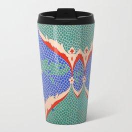 BLUE GREEN IZNIKY Travel Mug