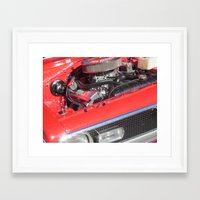 muscle Framed Art Prints featuring muscle by Davey Charles