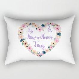 Tony - It's Now Or Never Rectangular Pillow