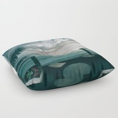 A Room With a View Floor Pillow