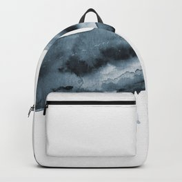 Watercolor Whale - Blue Backpack