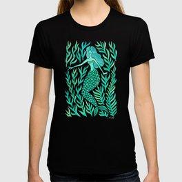 Kelp Forest Mermaid – Mint Palette T-shirt