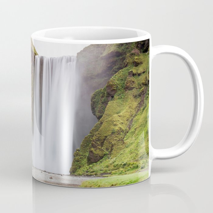 Skogafoss waterfall Coffee Mug