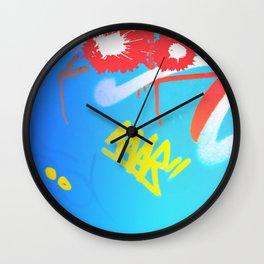 Urban Graff Cat Wall Clock