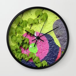Nature vs. Nurture I Wall Clock