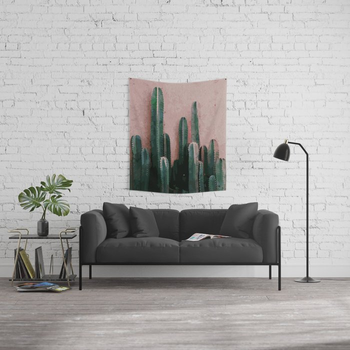 Cactaceae Wall Tapestry