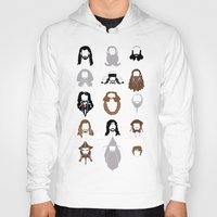 nori Hoodies featuring The Bearded Company by Paranoia mit Sahne