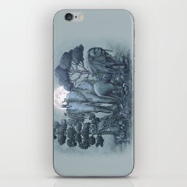 Midnight in the Stone Garden (colour option) iPhone Skin