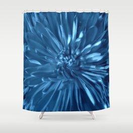 Flower   Flowers   Sky Blue Mums Shower Curtain
