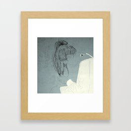 liaisons Framed Art Print