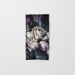 Roses and peonies vintage style Hand & Bath Towel