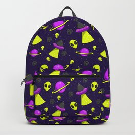 Aliens Are Real Backpack