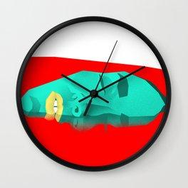 Bloody Bath Wall Clock