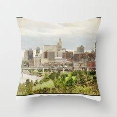 St. Paul Minnesota Throw Pillow