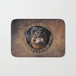 Executive bodyguard Angry rottweiler iPhone 4 5 6 7 8 x, pillow case, mugs and tshirt Bath Mat