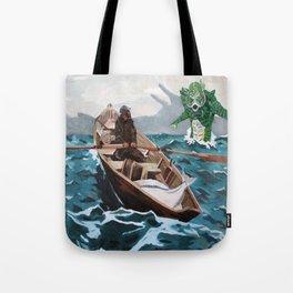 "Winslow Homer's ""Storm Warning"" Revisted Tote Bag"