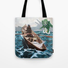 "Winslow Homer's ""Storm Warning"" Revisted Tote Bag"