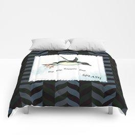 Penguin Makes a Splash Comforters