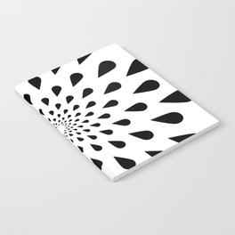 Trance Teardrops Notebook