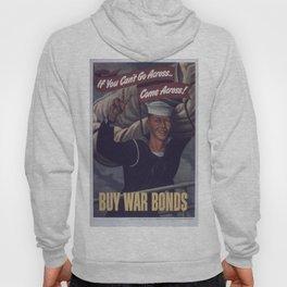 Vintage poster - Buy War Bonds Hoody