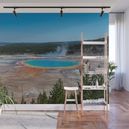 Grand Prismatic Spring, Yellowstone Wall Mural