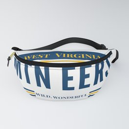 West Virginia License Plate Fanny Pack