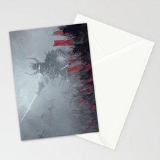 dark shogun Stationery Cards