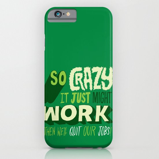 Quit Our Jobs iPhone & iPod Case
