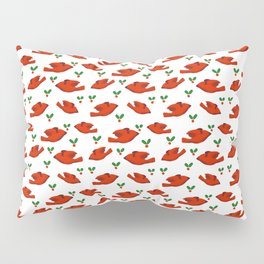 Red Bird Red Bird Pillow Sham