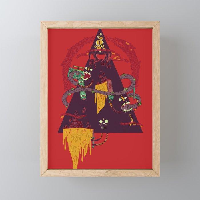 Ouroboros Framed Mini Art Print