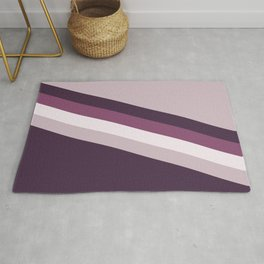 Grapes Candy stripes Rug