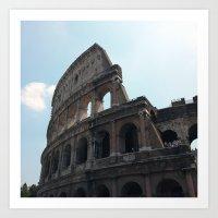 Colosseo Romano Art Print