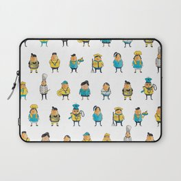 Wooferland: Wooferkers Pattern Laptop Sleeve