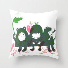 Three Hills Throw Pillow