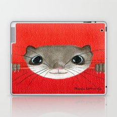 Cute baby Squirrel Bright Bold Colors Childrens decor Nursery Art Laptop & iPad Skin