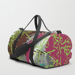 Girls of the concrete jungle Duffle Bag