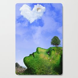 Mother Nature Smiling Cutting Board