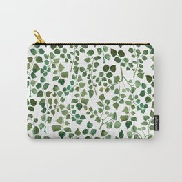 Green Shrub Carry-All Pouch