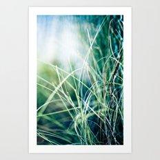 Angel Grass Art Print