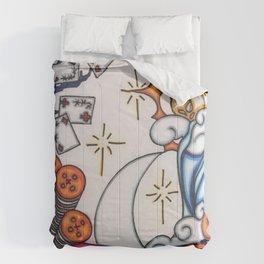 setting sun Comforters