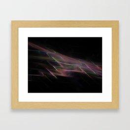 Oil Slick Framed Art Print