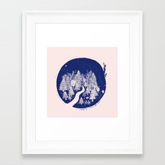 Under The Stars Framed Art Print