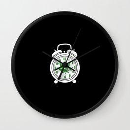 420 Time | Weed Cannabis Marihuana Stoner Gifts Wall Clock