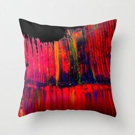 Red Brane S52 Throw Pillow