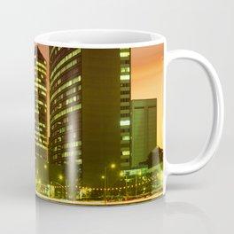 Lake Merritt and Downtown Oakland in Golden Sunset Coffee Mug