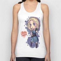 river song Tank Tops featuring Chibi River Song   by Midnight Tardis