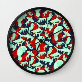 Ocean Life 3 Wall Clock