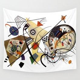 Kandinsky, Traverse Line 1923 Wall Tapestry