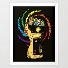 Infinite Power Art Print
