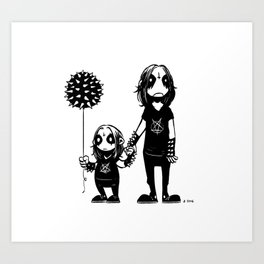 Happy Father's Day Art Print